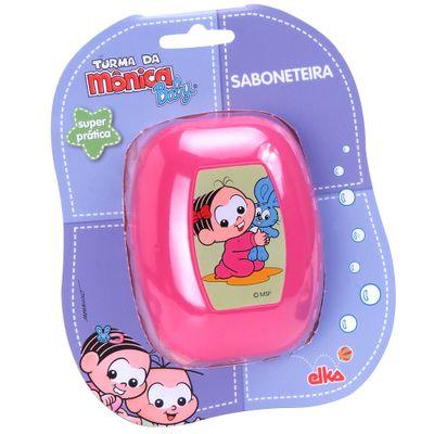 Saboneteira-Turma-da-Monica---Rosa---Elka