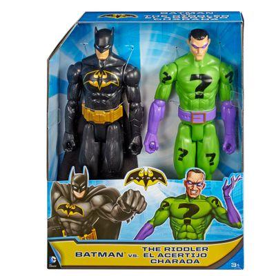 Playset---DC-Comics---Batman-VS-Charada---Mattel