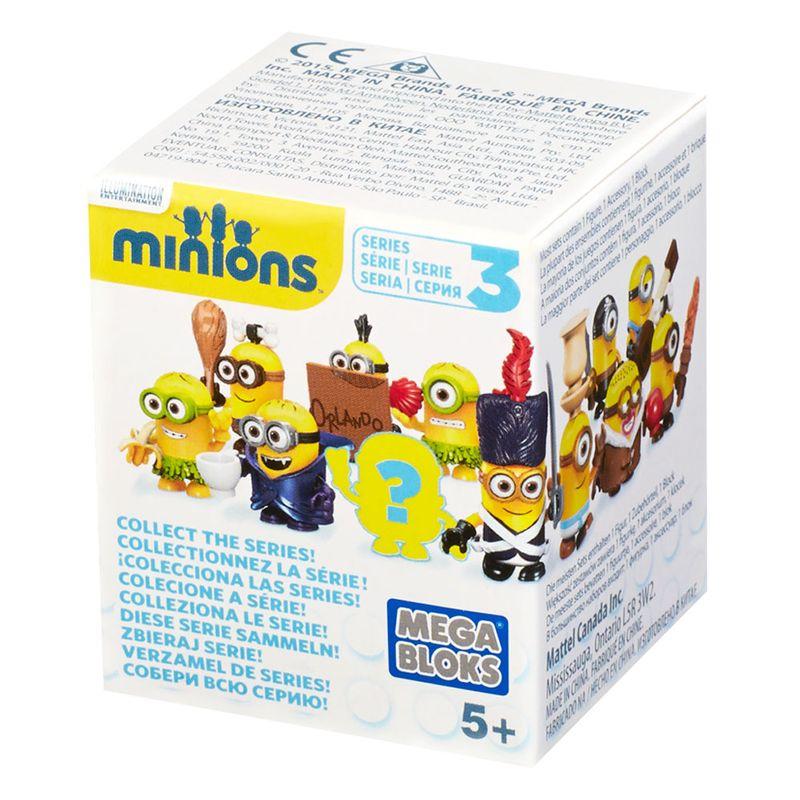 Mini Figura Surpresa - Mega Bloks - Minions - Mattel - Ri Happy Brinquedos a62360794f012