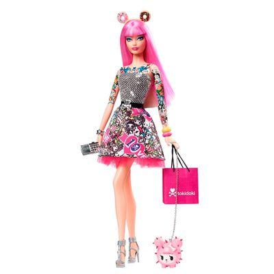 Boneca-Barbie-Colecionavel---Tokidoki-Black---Mattel