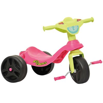 Triciclo-Kid-Cross---Rosa---Bandeirante