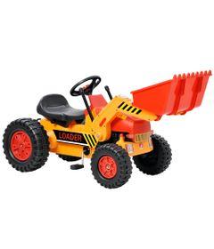 Mini-Veiculo---Trator-Escavadeira---Bandeirante