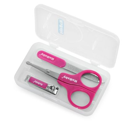 Kit-Manicure---Estojo-Rosa---KaBaby