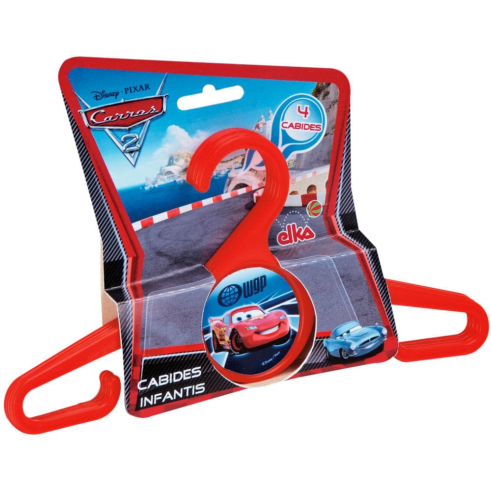 Cabide Infantil - Disney Cars 2 - Elka