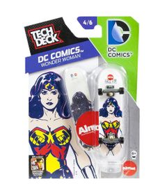 Skate-de-Dedo-Tech-Deck-DC-Comics-Wonder-Woman-Multikids