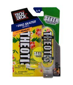 Skate-de-Dedo-Tech-Deck-Baker-3-6-Pro-Skater-Series-Multikids
