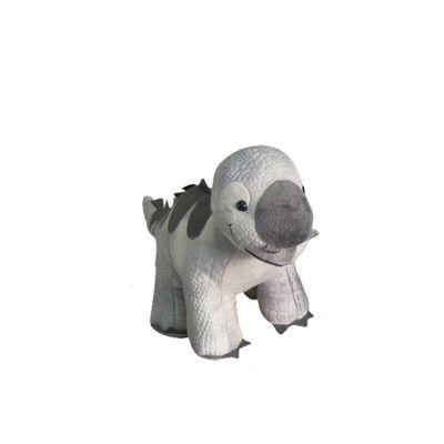 Pelucia-Dinos-Pequenos---Cinza---New-Toys