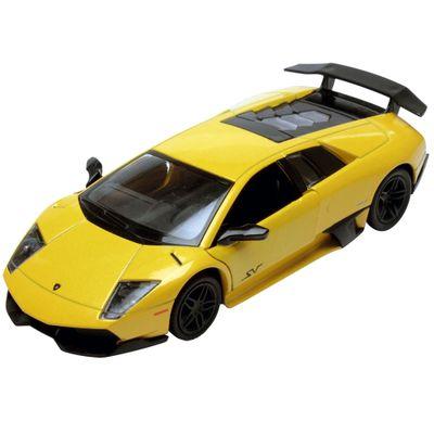 Carrinho-Super-Marcas---Lamborghini-Murcielago-LP-670-4-SV-Amarelo---DTC