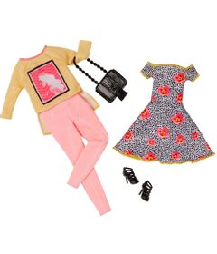 Pack-Com-2-Vestidos-Barbie-Fashion---Serie-7---Mattel