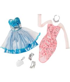 Pack-Com-2-Vestidos-Barbie-Fashion---Serie-8---Mattel