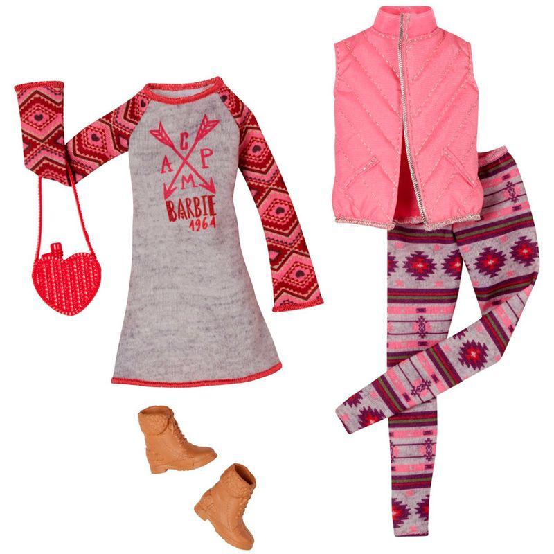 381e64c58 Pack Com 2 Vestidos Barbie Fashion - Serie 9 - Mattel - PBKIDS