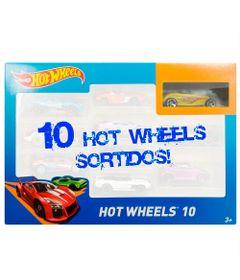 Carrinhos-Hot-Wheels---Pacote-com-10-Carros-Sortidos---Pack-J---54886---Mattel