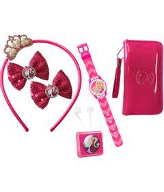 Conjunto-Barbie-Fashionastic---Radio---Relogio---Bolsa---Tiara-e-Presilhas---Candide
