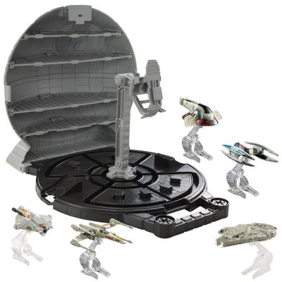100114495-Kit-Hot-Wheels-Star-Wars-Porta-Naves--Estrela-da-Morte-5-Naves-Mattel