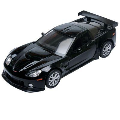 Carrinho-Super-Marcas---Chevrolet-Corvette-C6-R---Preto---DTC