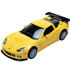 Carrinho-Super-Marcas---Chevrolet-Corvette-C6-R---Amarelo---DTC