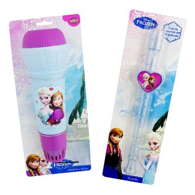 100114062-Kit-Pequena-Musica-Microfone-Flauta-Disney-Frozen-Toyng