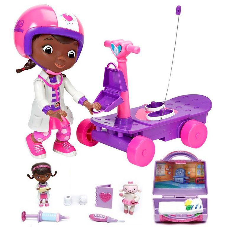 Kit Boneca Conjunto Mini Clinica Doutora Brinquedos Estela