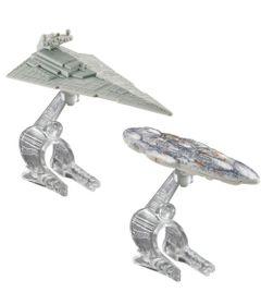 MATTEL-HW-SW-PAC-2-NAVES-SORT---MON-CALAMARI-CRUISER-VS-STAR-DESTROYER