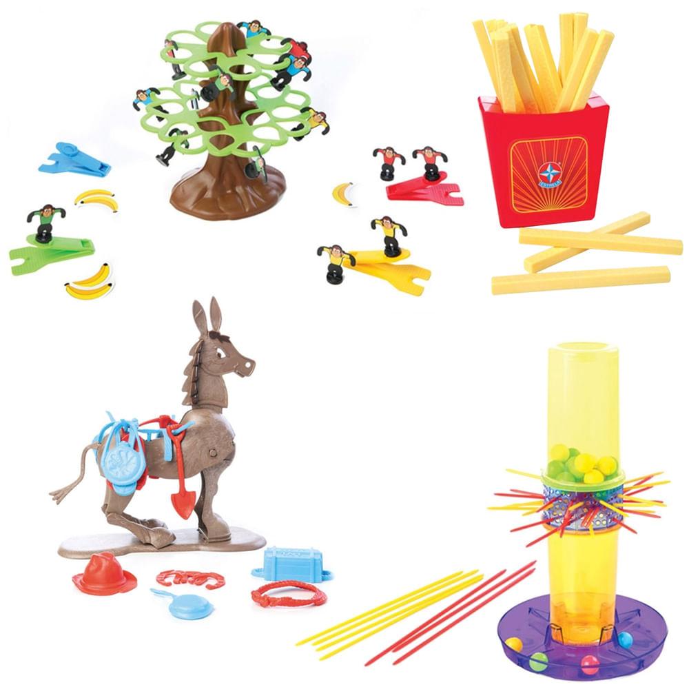 Kit de Jogos Clássicos - Estrela