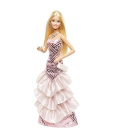 569e2f917d Boneca Barbie Vestidos Longos - Rosa e Fabulosa - Mattel