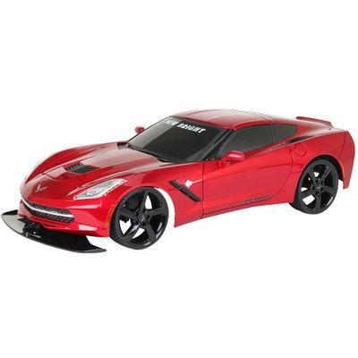Carro-de-Controle-Remoto---Corvette-Stingray---Vermelho---1-24---27MHz---Yes-Toys
