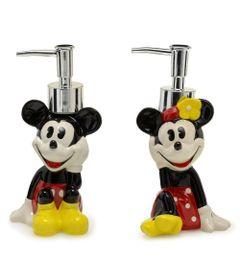 100114511-Porta-Sabonete-Liquido-Minnie-e-Mickey-2-Unidades-Mabruk