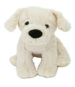 Pelucia-Cachorro-Amigao---Branco---23-cm---Bee-Me-Toys