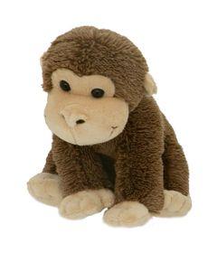 Pelucia-Animais-Sentados---Macaquinho---21-cm---Bee-Me-Toys