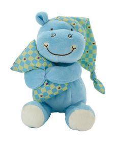 Pelucia-Hipo-Soneca---Xadrez---20-cm---Bee-Me-Toys