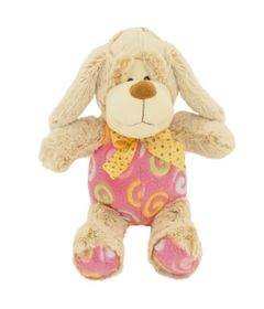 Pelucia-Cachorro-Carente---Rosa---23-cm---Bee-Me-Toys