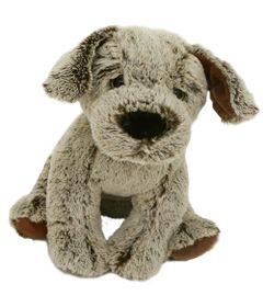 Pelucia-Cachorro-Amigao---Cinza---23-cm---Bee-Me-Toys