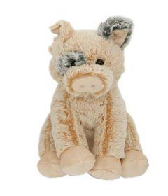 Pelucia-Animais-Sentados---Porquinho---21-cm---Bee-Me-Toys