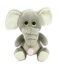 Pelucia-Animais-Selvagens-Visionarios---Elefante---20-cm---Bee-Me-Toys