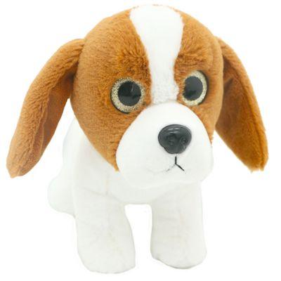 Pelucia-Cachorros-Visionarios---Marrom---20-cm---Bee-Me-Toys