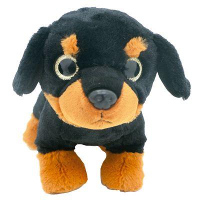 Pelucia-Cachorros-Visionarios---Preto---20-cm---Bee-Me-Toys