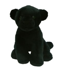 Pelucia-Felinos-Sentados---Pantera---21-cm---Bee-Me-Toys