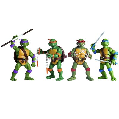 Kit De Bonecos Tartarugas Ninja Retro Multikids Pbkids Mobile