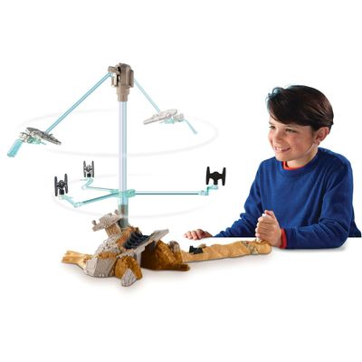 Playset-Hot-Wheels---Star-Wars-The-Force-Awakens---Escape-From-Jakku---Mattel