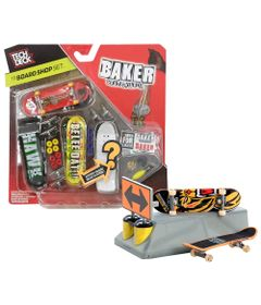 100115034-Kit-Pista-Tech-Dech-Starter-Sk8-Set-e-Pack-de-Montagem-Baker-Skateboards-Multikids
