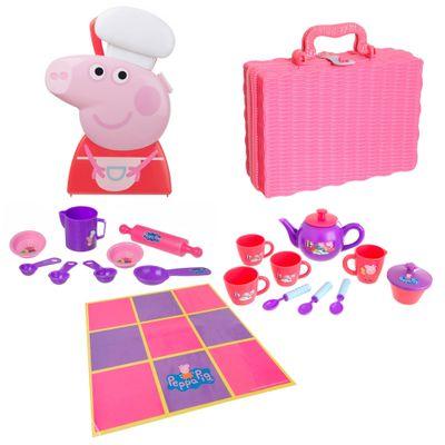 100115037-Conjunto-Faz-de-Conta-da-Peppa-Pig-Pic-Nic-Chefe-de-Cozinha-Multikids