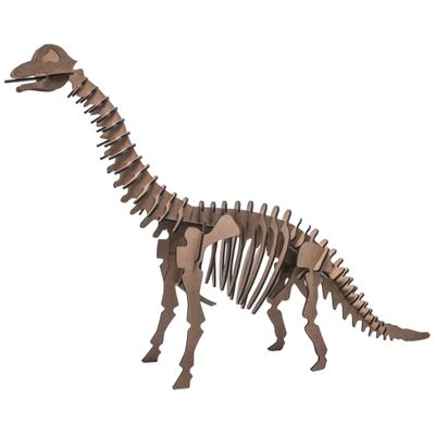 Quebra-Cabeca-3D---Dinossauro---Braquiossauro---52-Pecas---Pasiani-Brinquedos