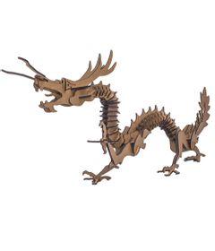 Quebra-Cabeca-3D---Dragao-Chines---72-Pecas---Pasiani-Brinquedos