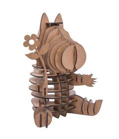Quebra-Cabeca-3D---Hipopotamo-Lisbela---47-Pecas---Pasiani-Brinquedos