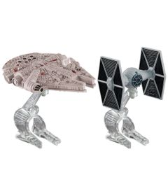 Naves-Star-Wars---The-Fighter-e-Millenium-Falcon---Hot-Wheels---Mattel