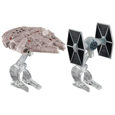 Naves-Star-Wars---The-Fighter-e-Millenium-Falcon---Hot-Wheels---Mattel