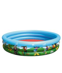 Piscina-Inflavel-Redonda---Turma-do-Mickey-Mouse-Disney---160Ltrs---New-Toys
