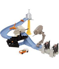 Pista-Hot-Wheels---Star-Wars---Hoth-Echo-Base-Attack---Mattel