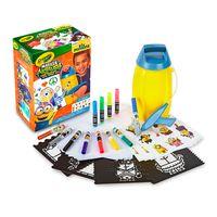 Marker-Airbrush---Minions---Crayola