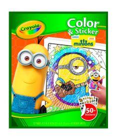 Livro-para-Colorir---Minions---Crayola